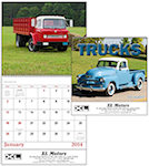 Treasured Trucks Spiral Wall Calendars